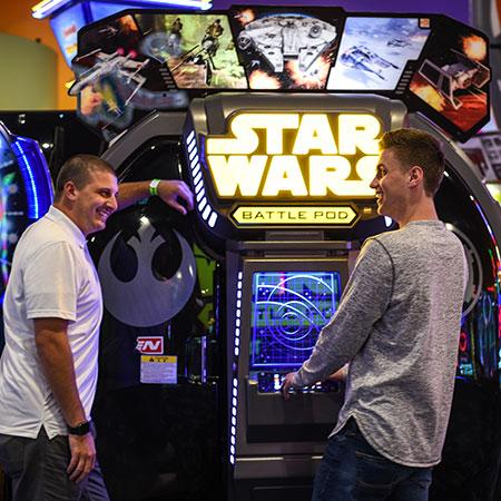 Boondocks - Adults Playing Arcade
