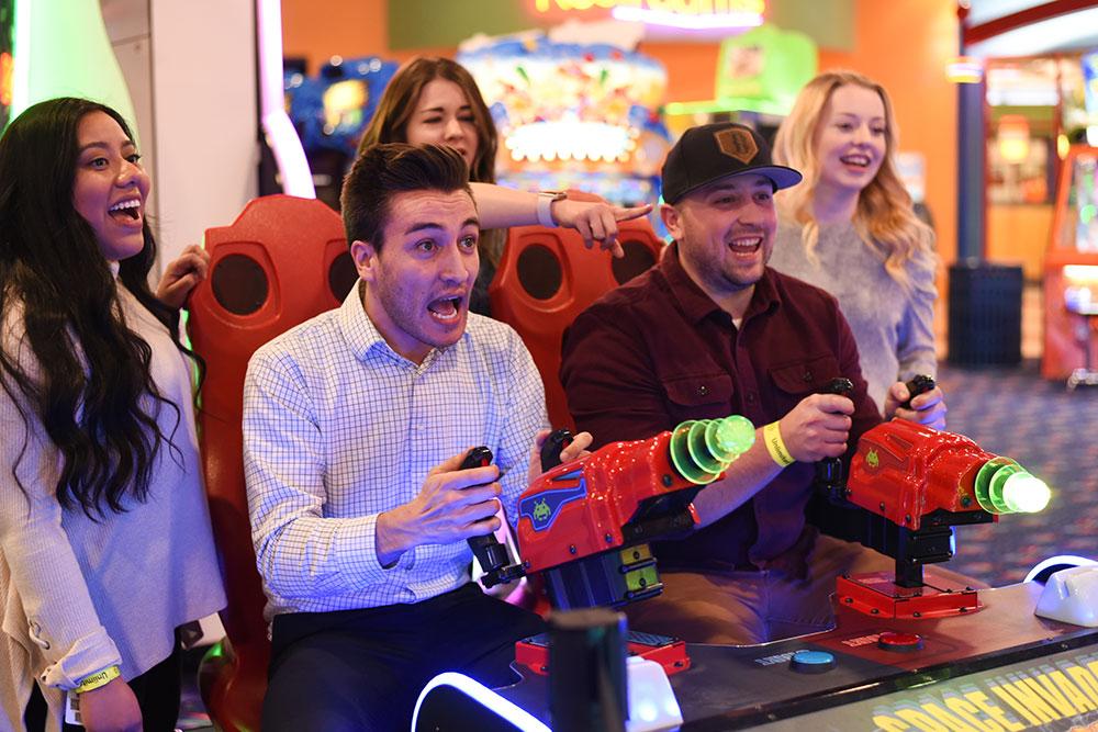 Boondocks - Group Playing Arcade Games