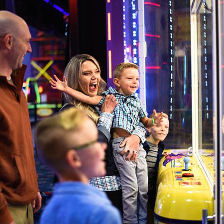 Boondocks - Family Playing Arcade Game