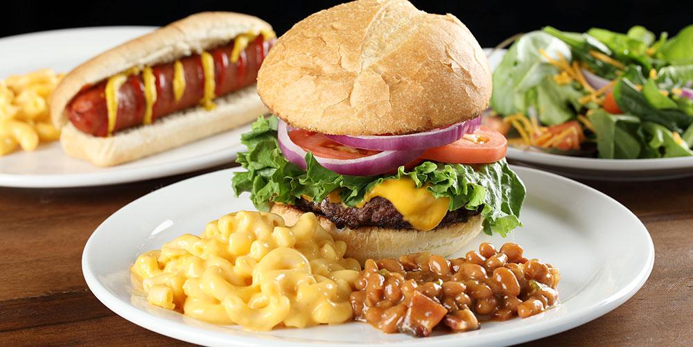 Boondocks - Hamburger Meal