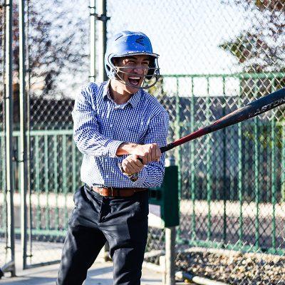 Boondocks - Batting Cages - Man Swinging Bat