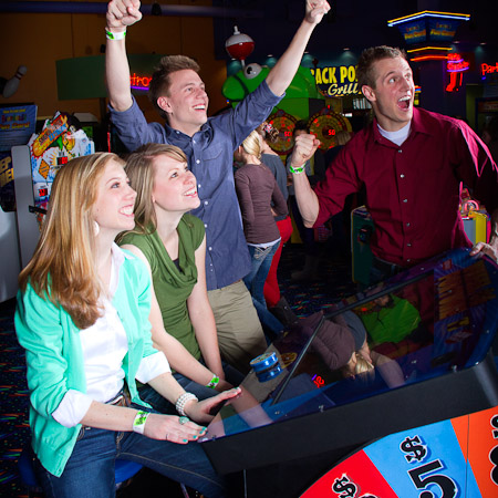 Boondocks - Group Playing Arcade Games