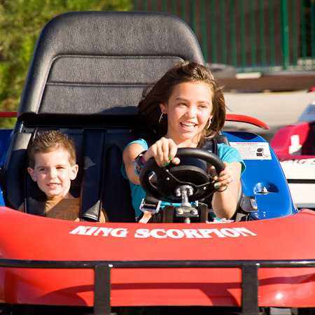 Boondocks - Siblings on Go Karts