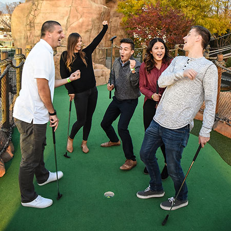 Boondocks - Group Mini Golf