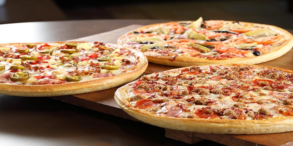 Boondocks - Pizza Buffet Selection